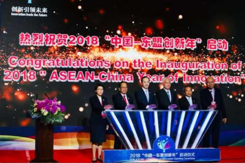 ASEAN and China launch Year of Innovation