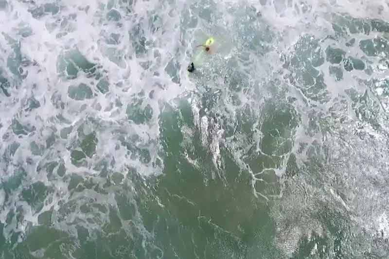 Drone saved two teenage swimmers in New South Wales in world's first drone ocean rescue