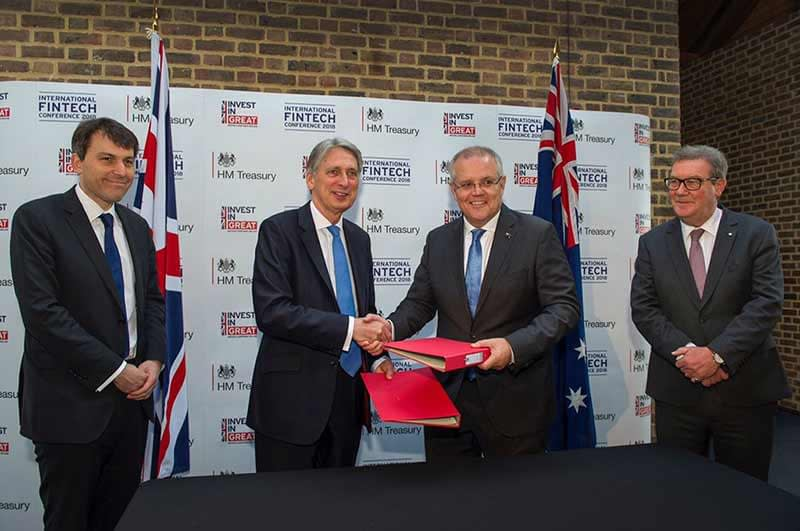 Australia and UK set up FinTech Bridge to deepen collaboration between governments