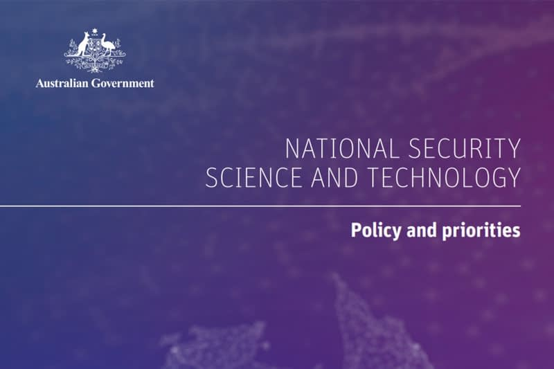 Australian Government releases new national security science and technology policy agenda