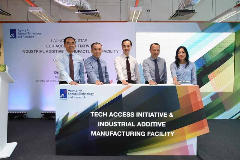 A*STAR officially launches Tech Access Initiative and opens new Industrial Additive Manufacturing Facility (IAMF) to help SMEs