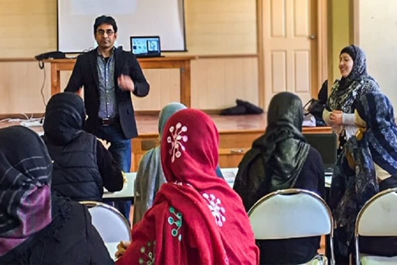 Digital Education Course for Hazara Women