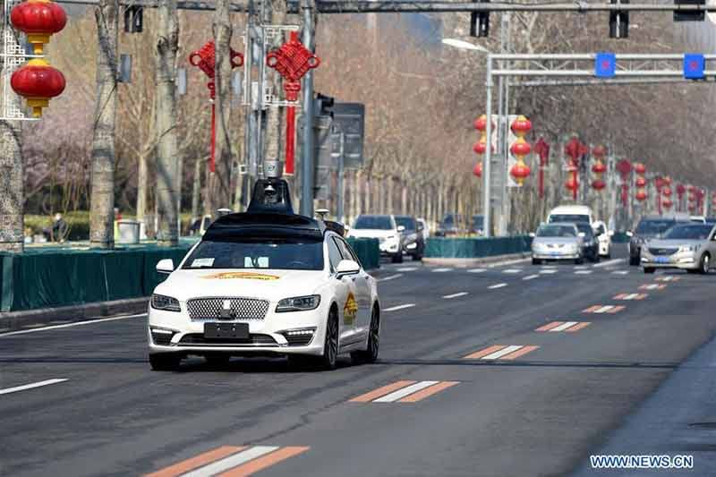 China issues nationwide guidelines for road-testing of autonomous vehicles
