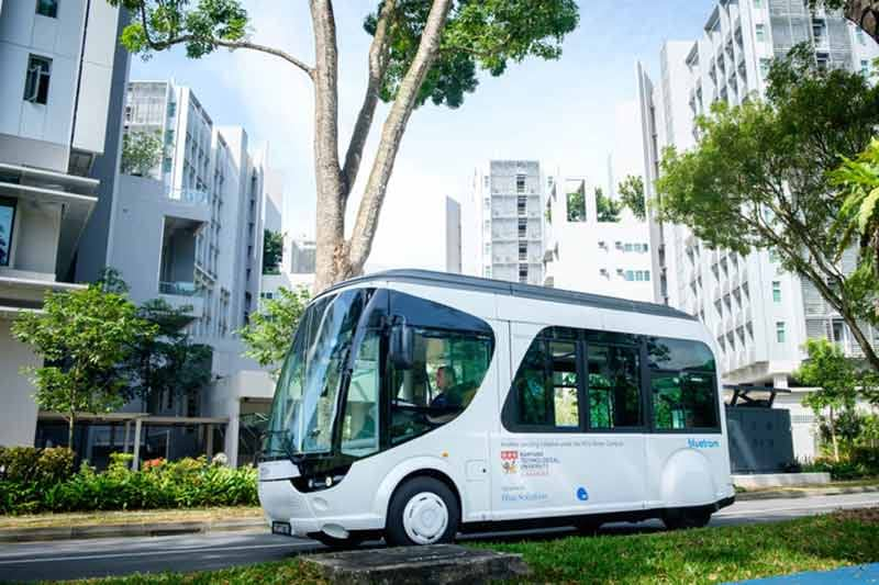 Singapore's first flash-charging electric shuttle to be trialled at Nanyang Technological University