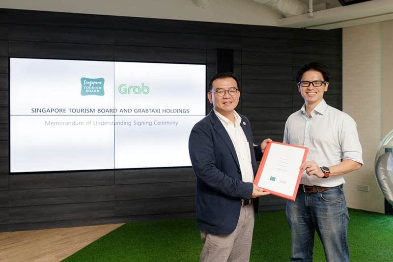 Singapore Tourism Board inks 3-year MOU with Grab to share consumer insights and extend cashless experience to visitors