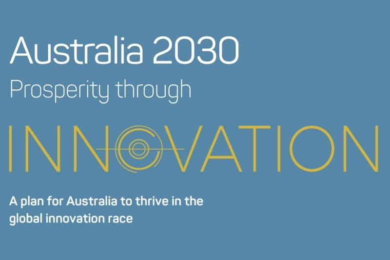 Australian Government's 2030 innovation plan identifies five imperatives for action
