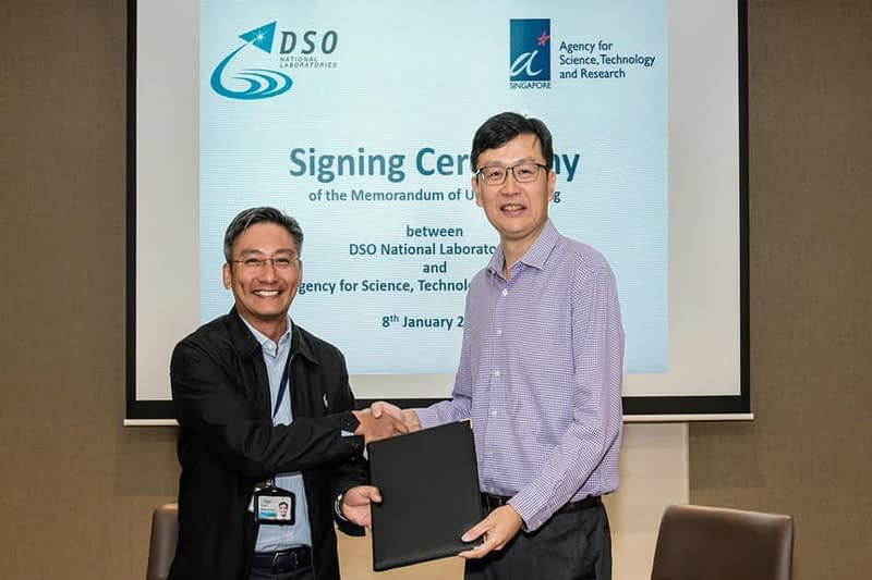 DSO and A*STAR MoU for Singapore Defence Systems