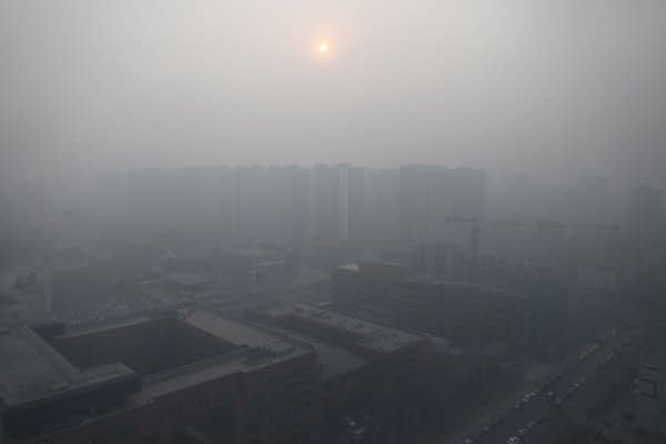 """Beijing Issues First """"Red Alert"""" due to Air Pollution"""
