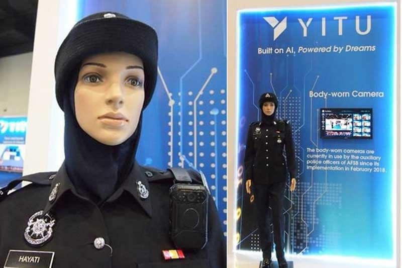 Auxiliary Force of Malaysian Police integrates facial recognition technology with body-worn cameras