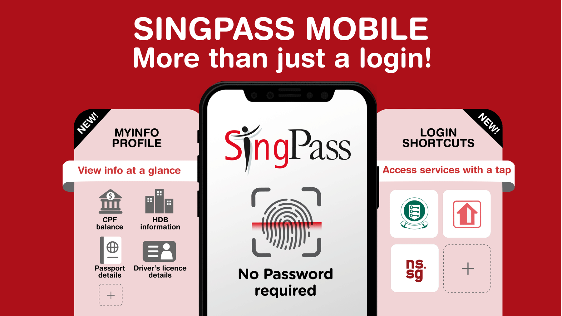 SingPass mobile app to become main gateway to access government services –  OpenGov Asia