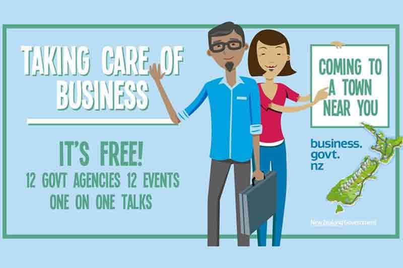New Zealand helps small businesses go digital through Taking Care of Business roadshows