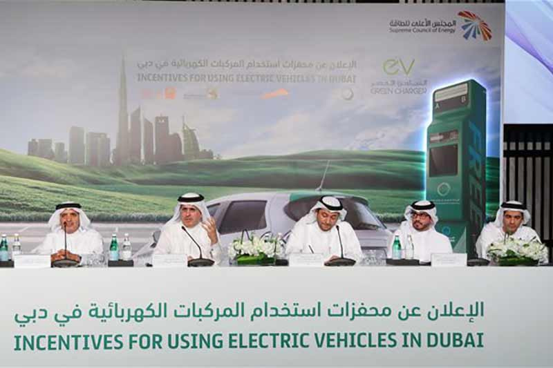 Dubai Supreme Council of Energy announces incentives to encourage use of electric and hybrid vehicles