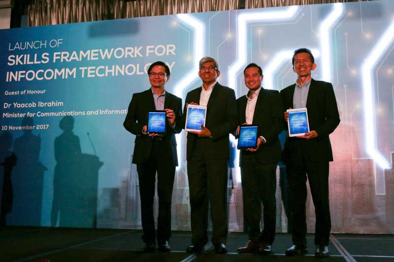 Skills Framework for ICT launched in Singapore to guide and develop ICT professionals in the digital economy