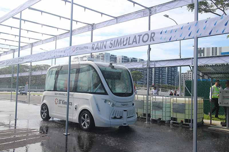 Singapore moves ahead on smart mobility - Autonomous scheduled and on-demand public transport by 2022; first AV test centre opened
