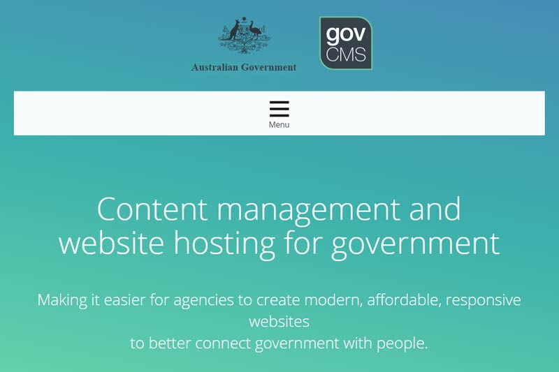 Australian Department of Finance plans to approach market in January 2018 for continued operation of whole-of-government CMS