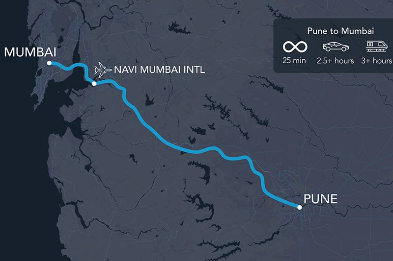 Indian state of Maharashtra announces intent to build first Hyperloop route