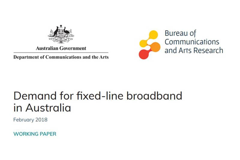 Future trends of data and bandwidth demand in Australia
