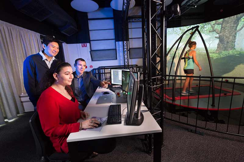 New Virtual Reality biomechanical facility launched at University of Melbourne