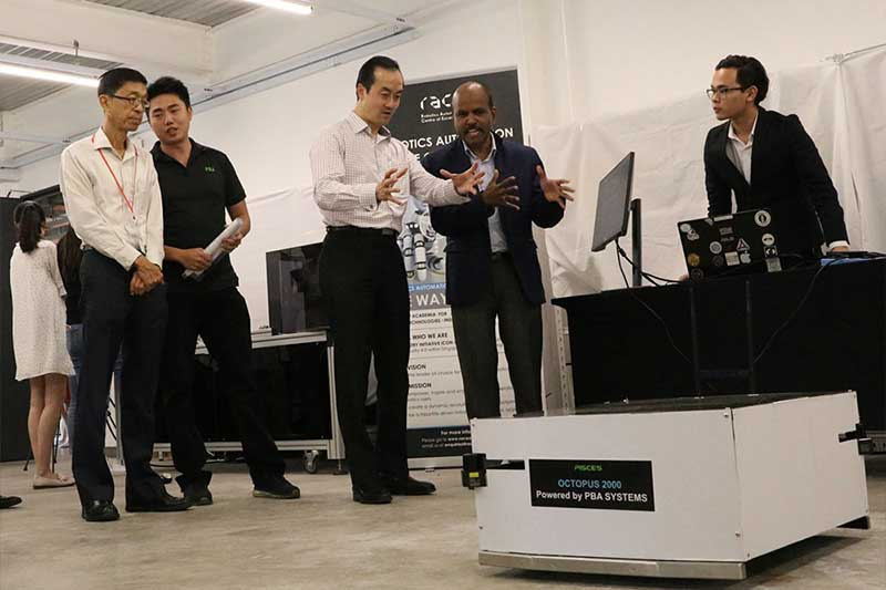 New Robotics Centre launched at one-north to support robotics & automation startups in Singapore