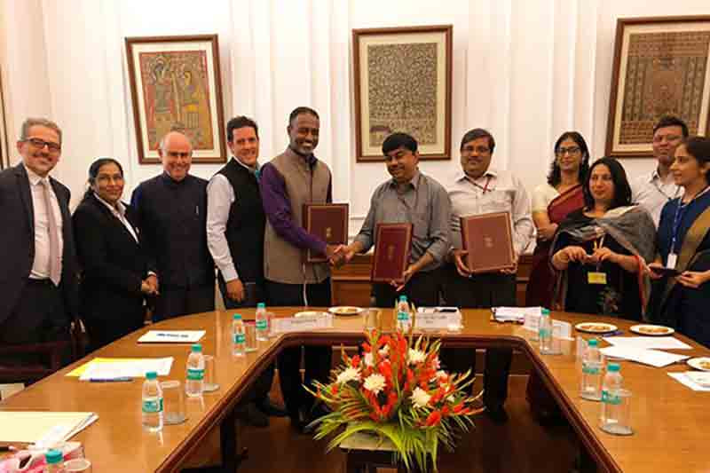 India and World Bank sign agreement to invest in biopharmaceutical technology