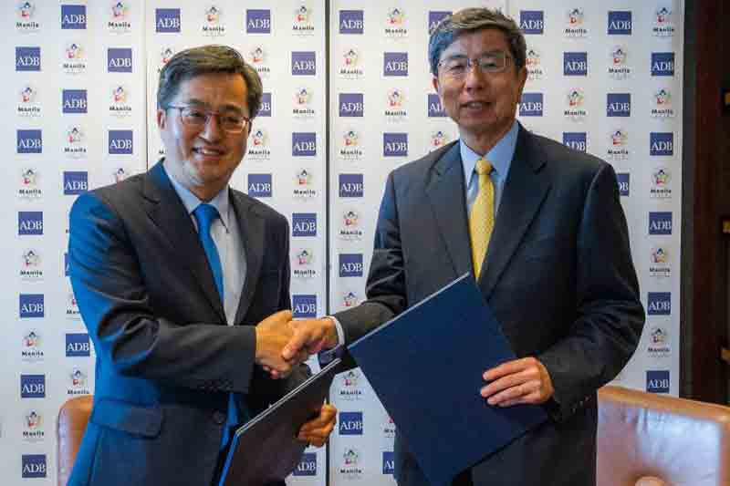 ADB and Korea sign 2 agreements to strengthen co-financing and technical cooperation