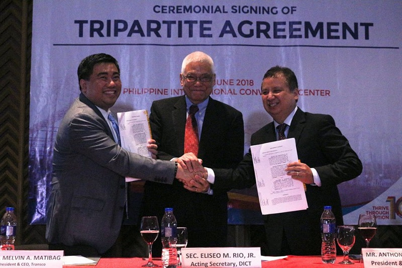 Signing of Tripartite Agreement to boost Philippines' National Broadband Plan