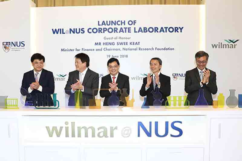 NUS sets up joint lab to drive innovation in food tech and sustainable biochemicals