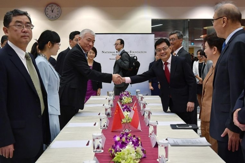 Singapore China Agreement on Research and Innovation