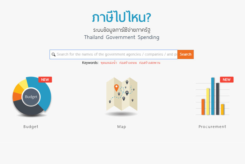 EXCLUSIVE - Thailand Government Spending (GovSpending) Initiative: A Digital Innovation for a Transparent Government and Citizen Empowerment