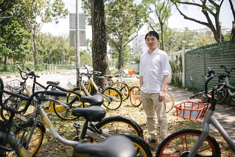 Insights on usage of dockless bike sharing in Singapore from SMART researchers